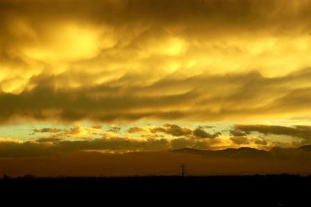 Sulfur skies