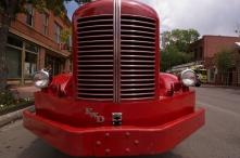 Aspen fire truck grill